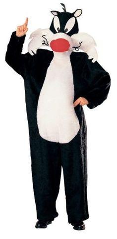 Naamiaisasu; Sylvesteri  Lisensoitu Looney Tunes hahmo Sylvesteri, epäonninen kissa. Standardikoko. #naamiasmaailma
