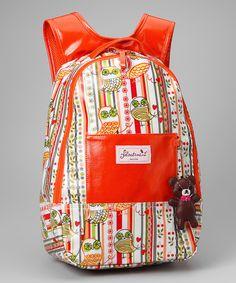 Orange Owl Backpack, only  $33.99!