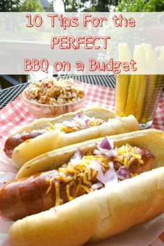 Grocery shopping on a tight budget can be tricky. Get 10 Simple Tips and Recipes For Hosting the Perfect BBQ on a Budget from Basilmomma.com