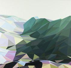 """Jonathan Zawada, Sandbox Painting (""""Tough one, ain't ya?), 2012"""