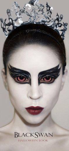 Black Swan Makeup by Mandibulo.deviantart.com on @deviantART