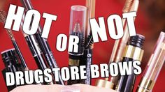 DRUGSTORE BROWS PRODUCTS | Hot or Not - YouTube