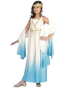 Kids Greek Goddess Costume - Spirithalloween.com