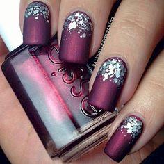 Después de ver estas fotos querrás tener AHORA las uñas con colores matte