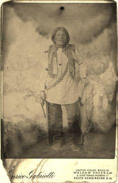 OGLALA MAN , circa 1887