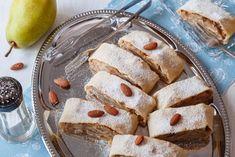 HRUŠKOVÝ ŠTRÚDL S MARCIPÁNEM - Inspirace od decoDoma Bread, Cakes, Kitchens, Mudpie, Breads, Cake, Baking, Pastries, Sandwich Loaf