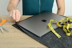 DIY Felt Laptop Case
