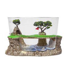 Amazon.com : FantaSeas Golf Course Aquarium : Pet Supplies