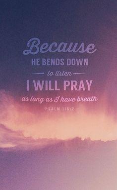 psalm 116.2