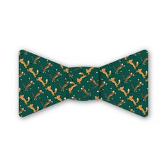 Fox and Hound Bow Tie