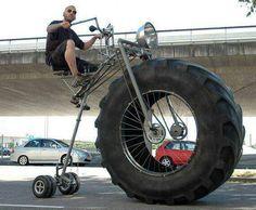 A mans big wheel...