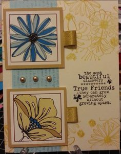 Girlfriends Masked card by Merilyn C. #clubscrap