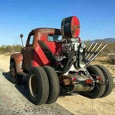 Stubby Bob from Hot Rod Magazines Roadkill YouTube show.
