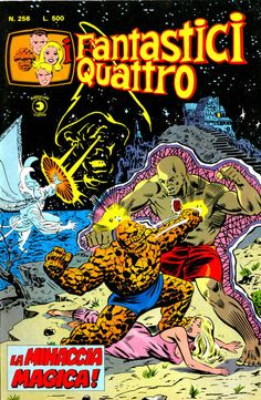 Cover for I Fantastici Quattro (Editoriale Corno, 1971 series) #256
