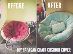 Superieur Papasan Chair Cushion Cover DIY 21 1