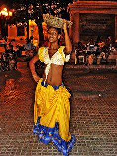 Plaza Bolivar Cartagena de Indias