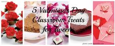 So many great ideas on Spoonful.com ~ my top 5 Valentine's Day Classroom Treats for Tweens ~they are a tough crowd!
