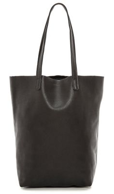 Baggu Basic Tote, Black Leather http://canopy.co/p/13695