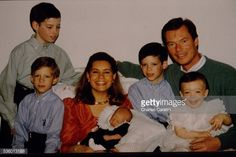 Sebastien, 5th child of Grand Duke Henri of Luxembourg and wife Duchess Maria Teresa, is born on April, 16, 1992. He is surrounded by his brothers Guillaume, 10, Felix, 7, Louis, 5, and his sister Alexandra, 1. April 23, 1992
