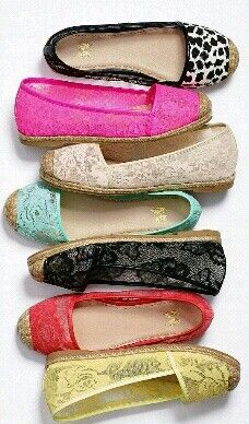 VS Collection The Lacie Espadrille - I love these!! I want ALL of them!