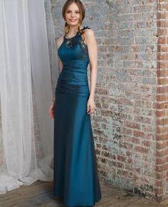 Blue Maxi Bridesmaids