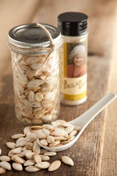 Pumpkin seed ideas.