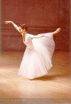 Working On Giselle. by State Of Her Art, via Flickr