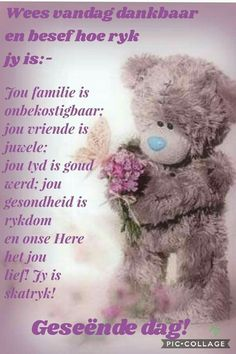 Good Morning Messages, Morning Prayers, Good Morning Wishes, Good Morning Quotes, Good Morning Rainy Day, Lekker Dag, Happy Birthday Wishes Quotes, Evening Greetings, Afrikaanse Quotes