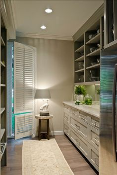 Kitchen Pantry and Laundry Room