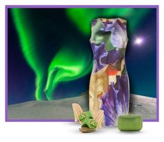 """Aurora Borealis In Iceland"" by hawkeye9862 ❤ liked on Polyvore"