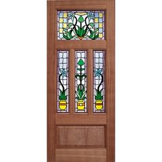 The unique decorative double glazing of the LPD Kensington makes a stunning statement. Made of durable hardwood and mortise and tenon construction, this door is ready to finish with the oil or varnish of your choice. Glazed External Doors, Doors Online, Wooden Front Doors, Internal Doors, Entrance Doors, Exterior Doors, Hardwood, New Homes, Handmade