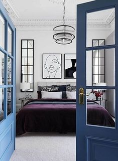 Art Deco-style houses in Australia The Block's Alisa and Lysandra worked their magic with a modern revamp of a heritage home in Melbourne's Albert Park. Melbourne, Art Deco Stil, Bedroom Paint Colors, Wood Bathroom, Finding A House, Art Deco Fashion, 60 Fashion, Wood Doors, Home Decor Styles