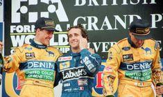 🏆🏁 🚦🇬🇧 #EnglandGP #BritishGP #f1 #formula1 #onthisday #bestoftheday #accaddeoggi #amarcord #11luglio Per il Professore è la 50ª affermazione, a Silverstone '93, ma che brividi con Ayrton Senna! Podio anche per Michael Schumi e Riccardo Patrese 👀👇