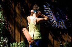 Ecofriendly yoga mat strap by Alabinbombam on Etsy