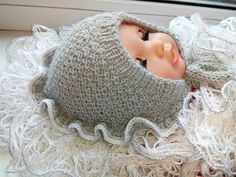 Бесшовная шапочка для новорожденного СНЕЖАНА (анатомический чепчик) 1 часть - YouTube