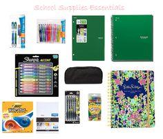 school supplies essentials