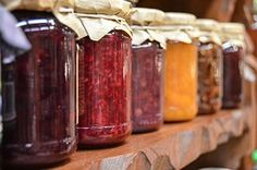 Jam, Preparations, Jars, Fruit