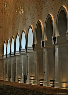 Another dimensiono of Sheik Zayed Mosque, Abu Dhabi