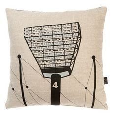 iconic lights cushion by Make Me Iconic