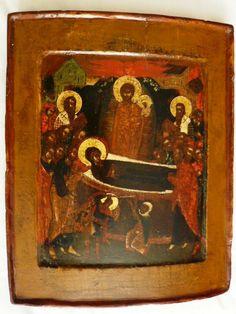 Dormition of the Virgin Russian, circa H Korban collection Russian Icons, Painting, Collection, Art, Art Background, Painting Art, Kunst, Paintings, Performing Arts