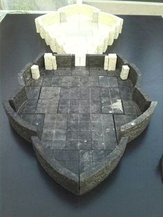 DungeoNext Circular Room Ser by Ghull'ARTS. Infinite modular mode on! :-)