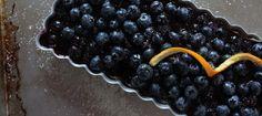 Citrus Blueberry Tart