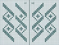 These king of charts are perfect for socks or mittens Knitting Machine Patterns, Knitting Charts, Loom Patterns, Knitting Socks, Butterfly Cross Stitch, Cross Stitch Flowers, Cross Stitch Charts, Cross Stitch Patterns, Sock Loom