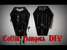 (9) COFFIN HANGER D-I-Y || Gothic Homewares + GIVEAWAY! - YouTube