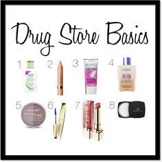 #drugstore #makeup basics