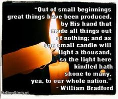 quote by william bradford - Google Search