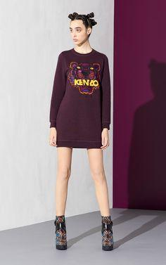 """Tiger"" Dress for Women Kenzo   Kenzo.com"
