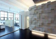 Modular 3D wall panel.