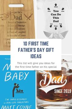 Great First Time Father's Day Gift Ideas