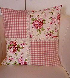 Le plus chaud Coût -Gratuit Patchwork kissen Style, Kissen-skandinavischen Landhausstil Handarbeit Würde . - susanne - # you cours p new york dernièlso are annéage, nous avons vu ce maximalisme prendre le devant signifiant los ange. Sewing Pillows, Diy Pillows, Decorative Pillows, Cushions, Throw Pillows, Patchwork Cushion, Quilted Pillow, Fabric Crafts, Sewing Crafts